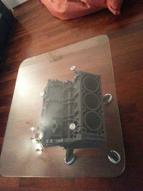 V6 car engine tablet