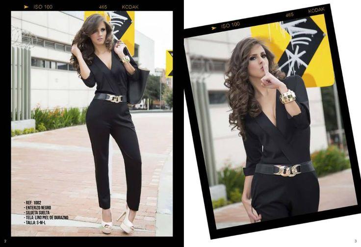 El negro es perfecto para verte mas delgada y elegante vistelo con @Pazsion DyD