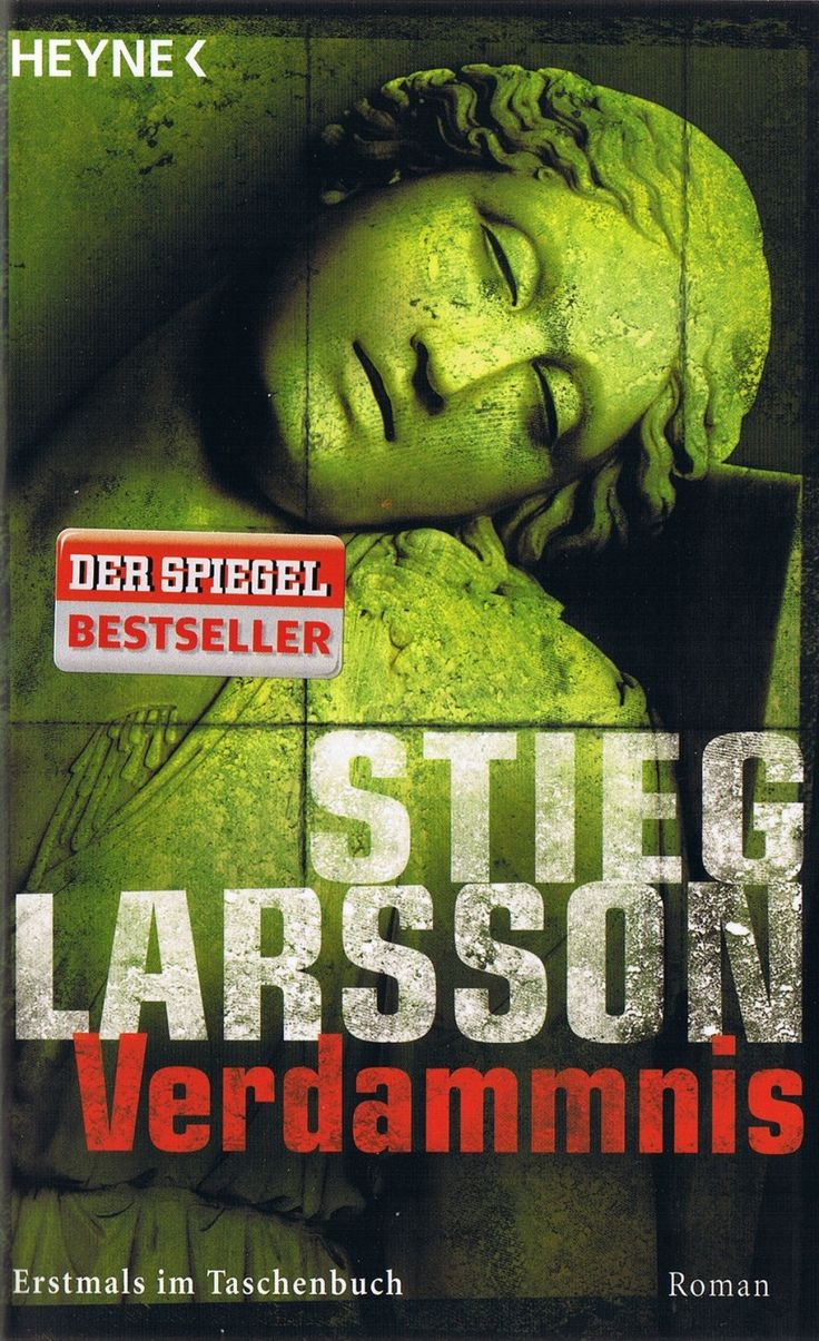 """Verdammnis"" by Stieg Larsson (in German, 751 pages, paperback)"