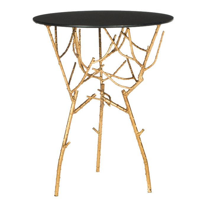 Tara Accent Table In Black Fun Iture Pinterest Cabin Interiors And Country Decor
