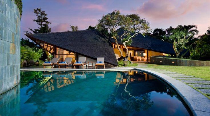 Villa Bali-Bali Two - Exterior and pool at sunset