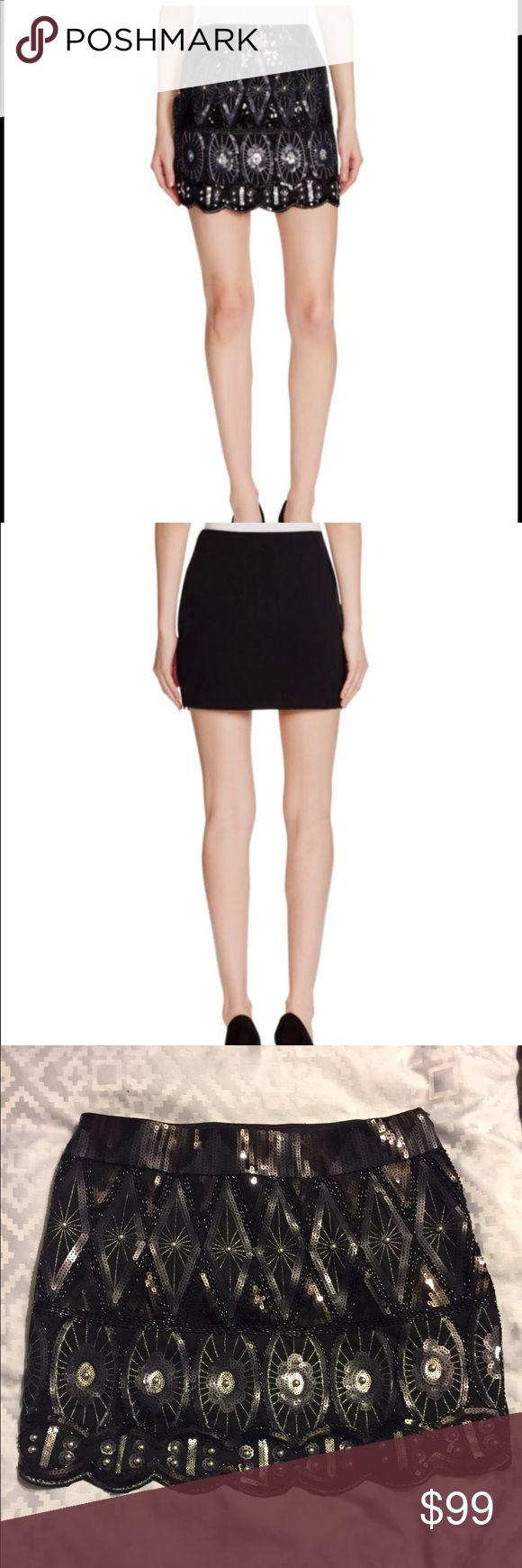 Sequin mini skirt Amazingly beautiful sequin mini skirt. Brand new!!!! Romeo & Juliet Couture Skirts