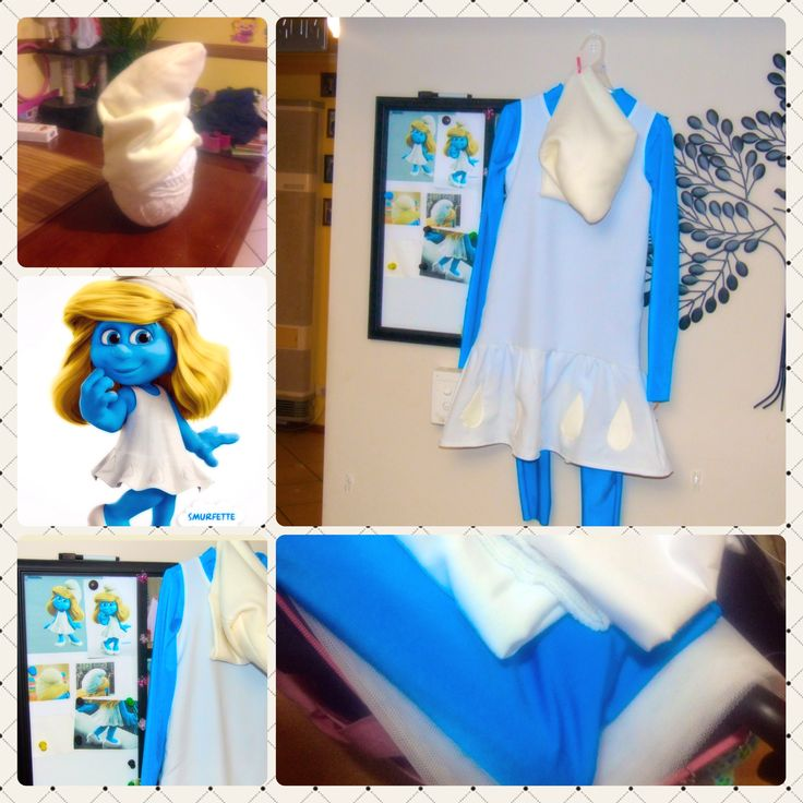 Smurfette for the Book Week parade !!
