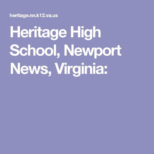 Heritage High School, Newport News, Virginia: