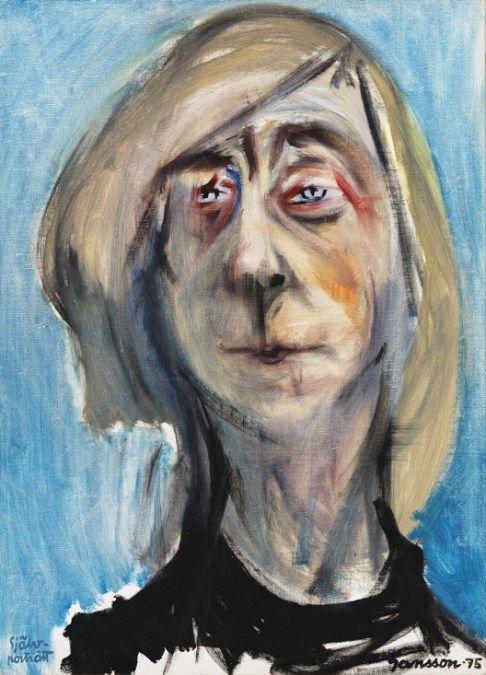 Tove Jansson: Omakuva (1975). Yksityiskokoelma. Kuva: Suomen Kansallisgalleria / Yehia Eweis© Tove Janssonin kuolinpesä.