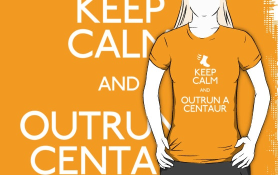 Guild Wars 2 - Keep Calm and Outrun a Centaur.