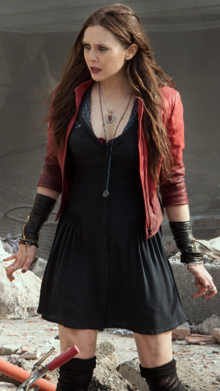 Pin for Later: 4 Things We Learned About Scarlet Witch and Quicksilver on the Age of Ultron Set