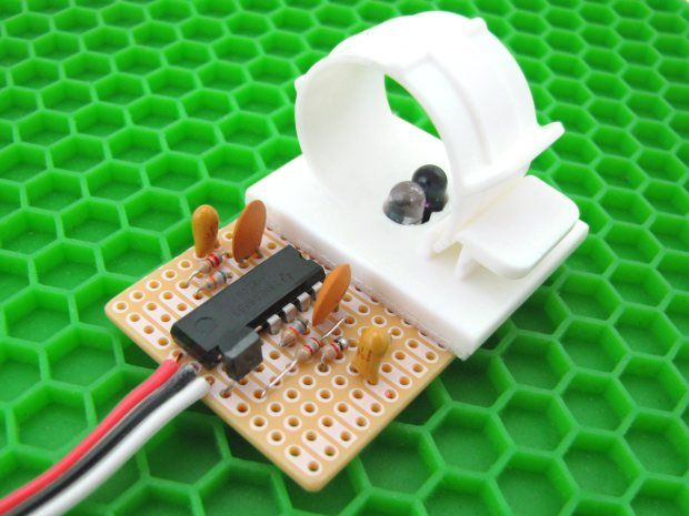 Easily Take a Pulse with a Infrared Pulse Sensor Make