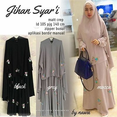 Womens-Long-Dress-Khimar-Bergo-Jihan-Syari-w-breastfeeding