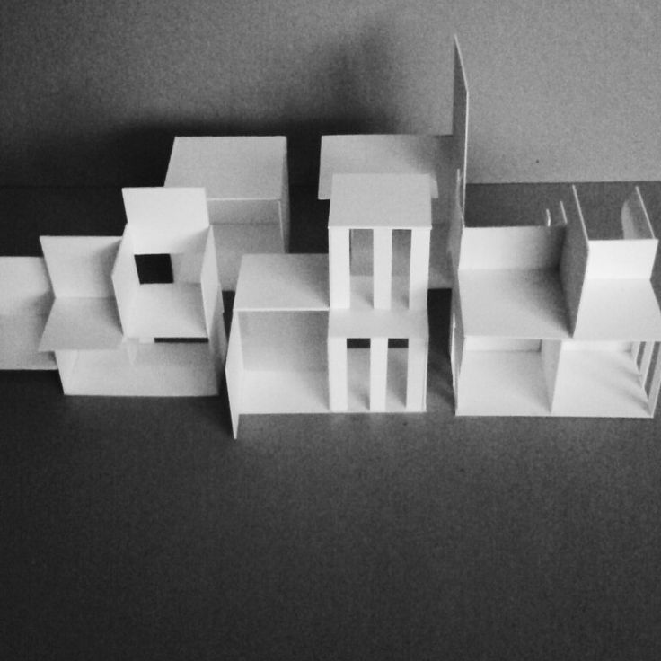 Architecture spatial model