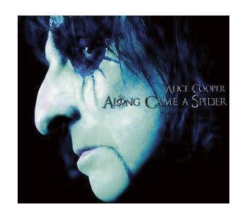 "L'album di #AliceCooper intitolato ""Along came a spider""."