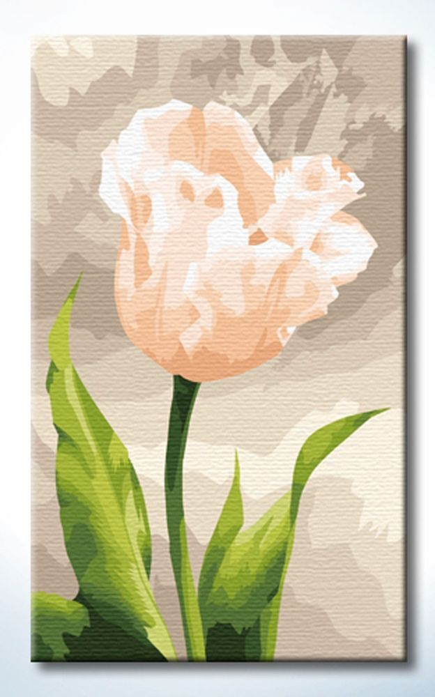 Diyoilpaintings Paint By Number Kit, Fragrance Pink Rose, 30cmX50cm #Diyoilpaintings