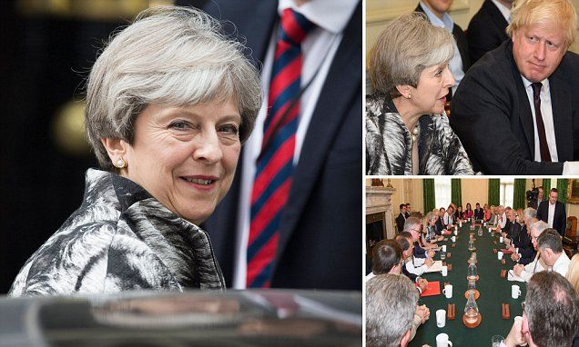 'I got us into this mess': May takes the blame for election disaster