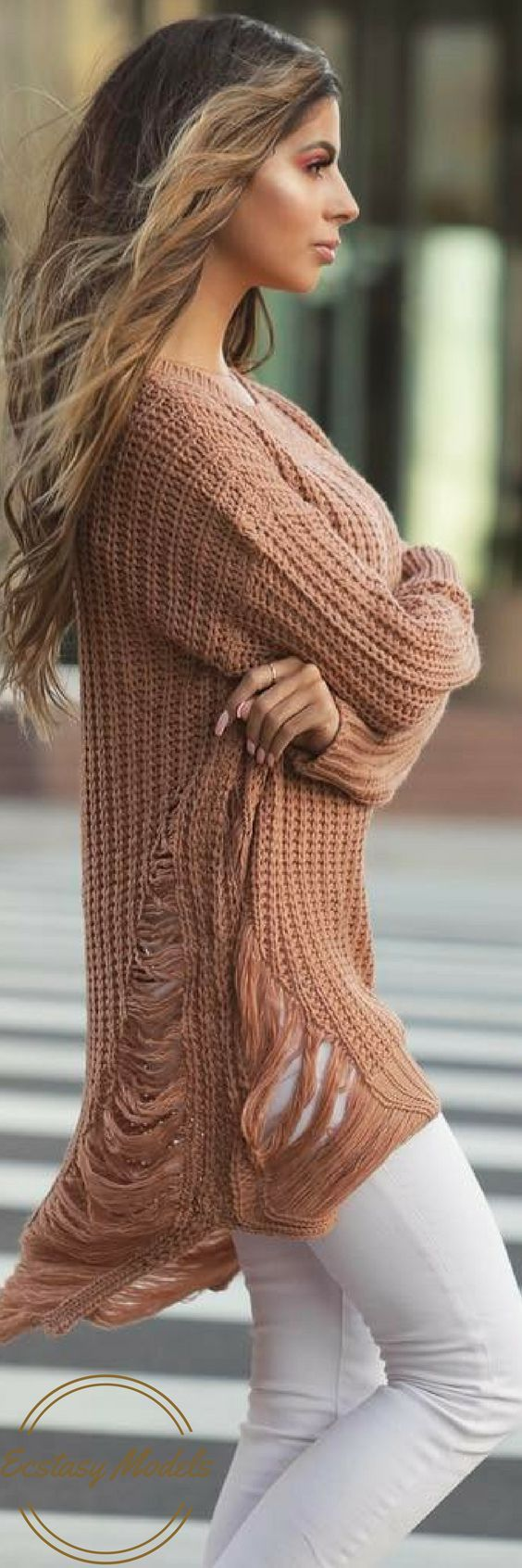 Windsor Store Knit Sweater // Fashion Look by Laura Lee: