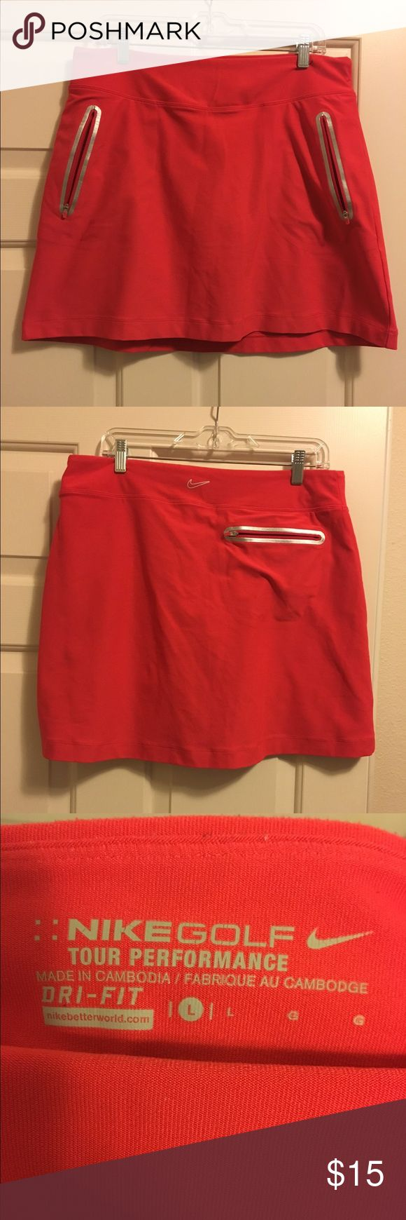 Nike Golf Skirt. Size large. Has barely been worn. Nike Skirts