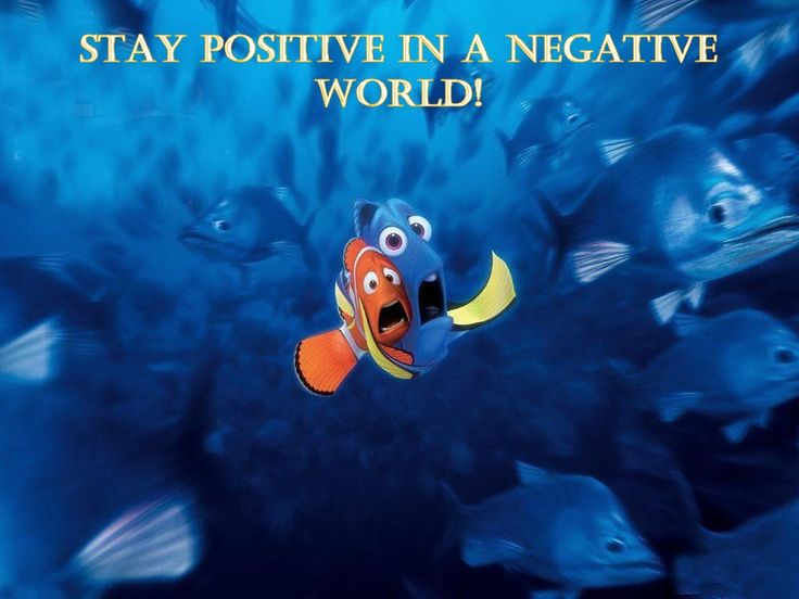 You may live in a negative world because you've welcomed negative people with open arms!