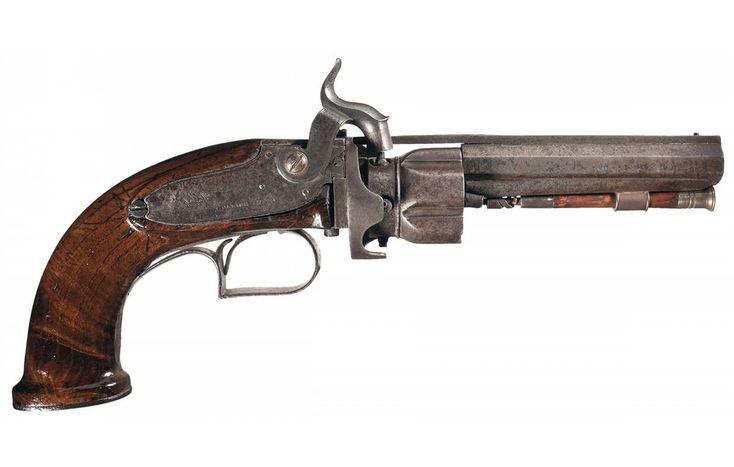 Image result for elisha collier revolver