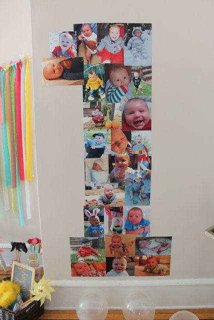 "Photo 5 of 25: Theme-less / Birthday ""Theme-less Photo Funtastic First Birthday Party"""