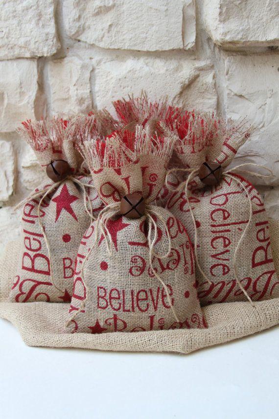 Best 25+ Burlap gift bags ideas on Pinterest
