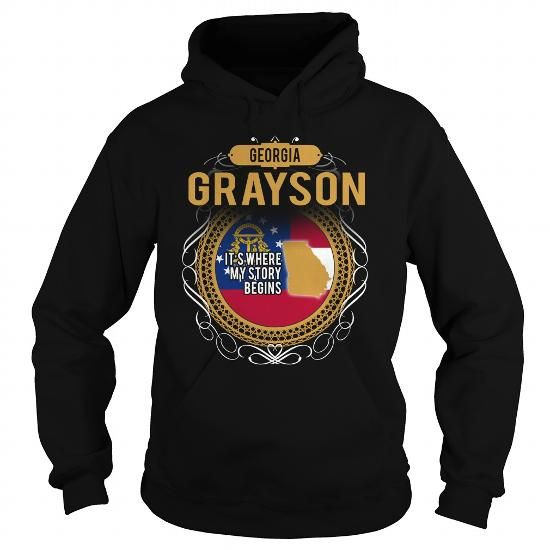 Awesome Tee  GRAYSON GEORGIA T-Shirts