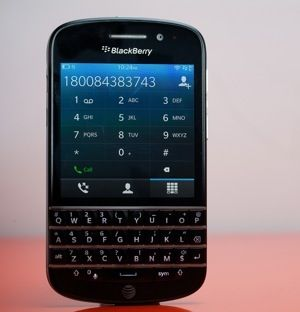 BlackBerry Q10. Of course. The physical keyboard. What more can you ask for?