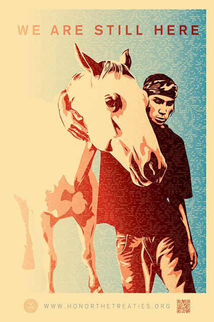Honor the Treaties Poster