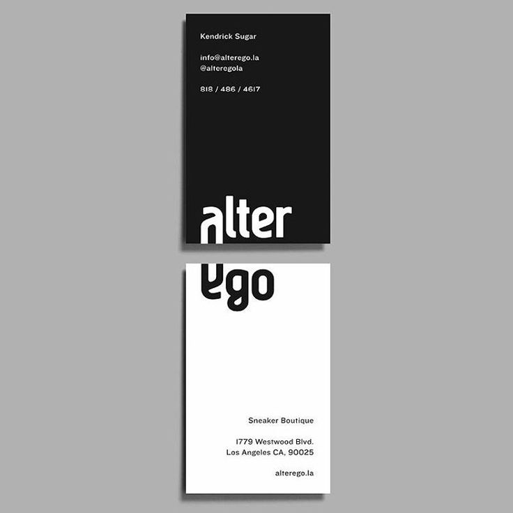 Follow @mindsparklemagazine Alter Ego Sneaker Boutique by Forth + Back @forthandbackstudio #mindsparklemag #minimal #typography #collateral #corporatedesign #branding #logo #logotype #fashion #stationery #black #white #graphicdesign #design