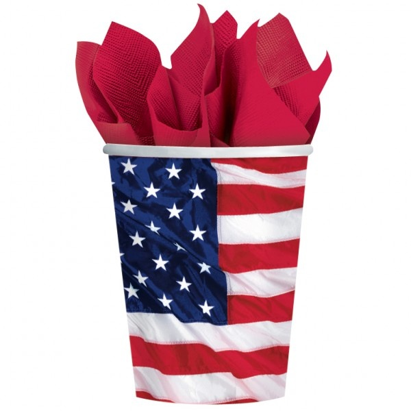 American cups (pack of 8)