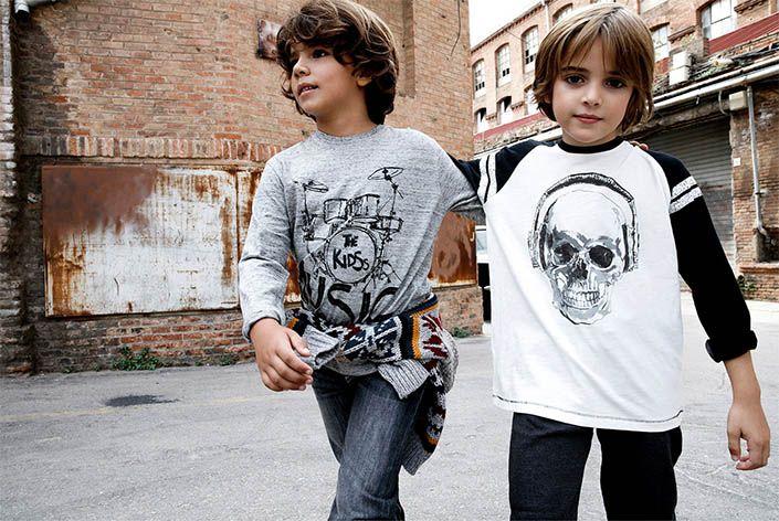 Ropa para niños de la firma española Sfera.