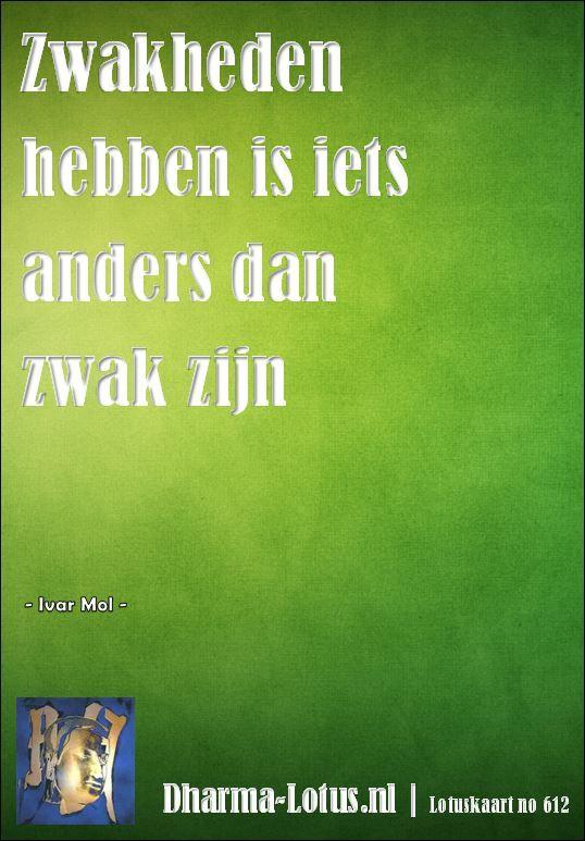 Lotuskaart no: 612 http://www.dharma-lotus.nl/lotuskaarten.asp