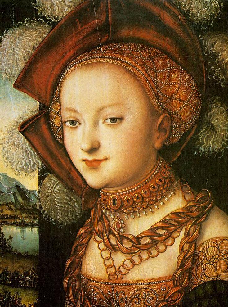 Lucas Cranach The Elder Biography Salome Lucas Cranach The Elder
