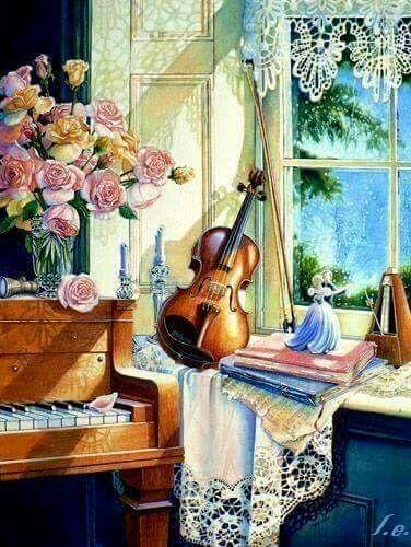 Картинки по запросу still life of piano