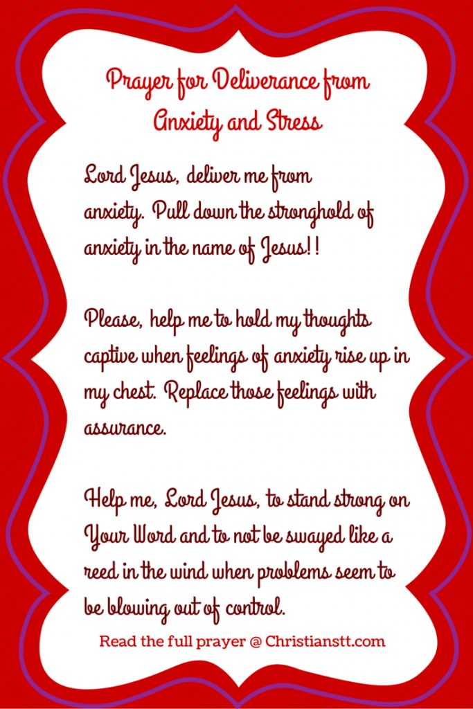 A Prayer For When I Am Stressed Daily Prayer
