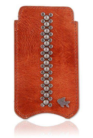 Luxe Metal Stud iPhone 5 & 5S telefoonhoesje. Bekijk deze en andere telefoonhoesjes op http://telefoonhoesjes-shop.nl