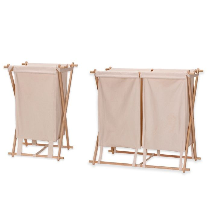 Household Essentials X Frame Collapsible Laundry Hamper