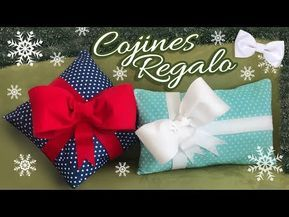 Cojines Regalo Navideño :: Pillow Gift Christmas :: Chuladas Creativas - YouTube