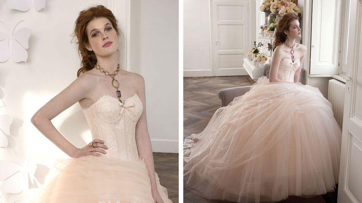 Abiti da sposa prodotti in Italia e venduti nelle migliori boutique di tutto il mondo e nei franchising Atelier Aimée Montenapoleone.