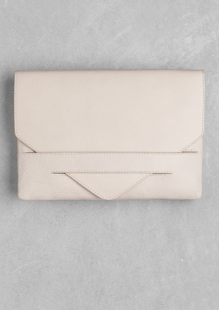 Leather pouch   & Other Stories   For the fancy dinner party