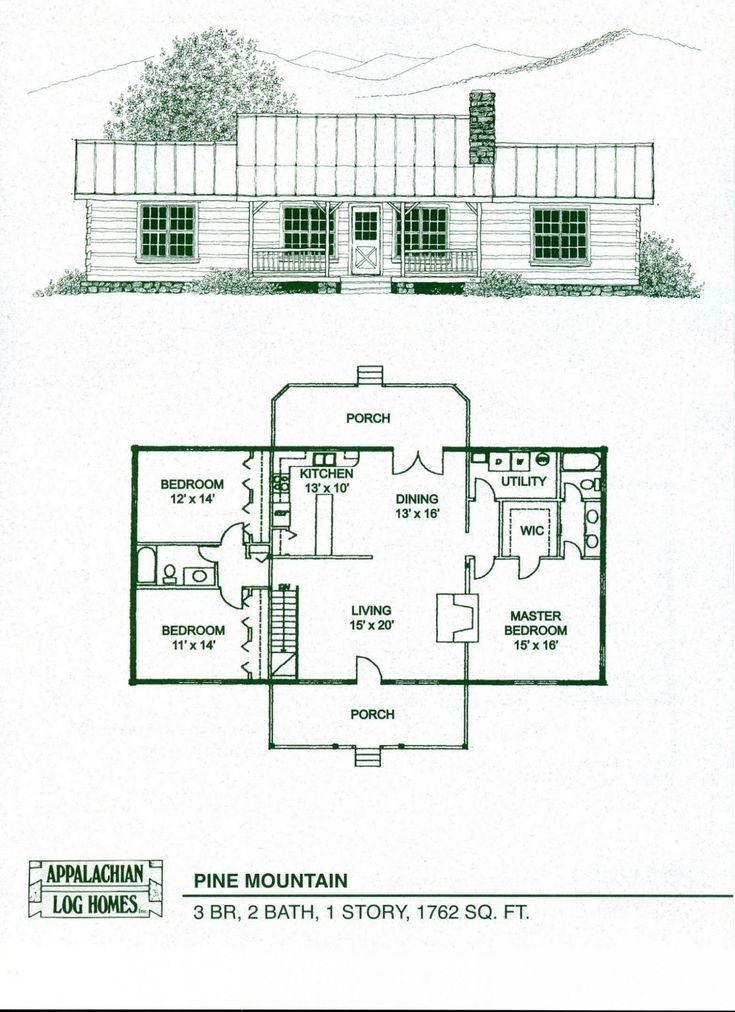 Modular Log Homes Floor Plans