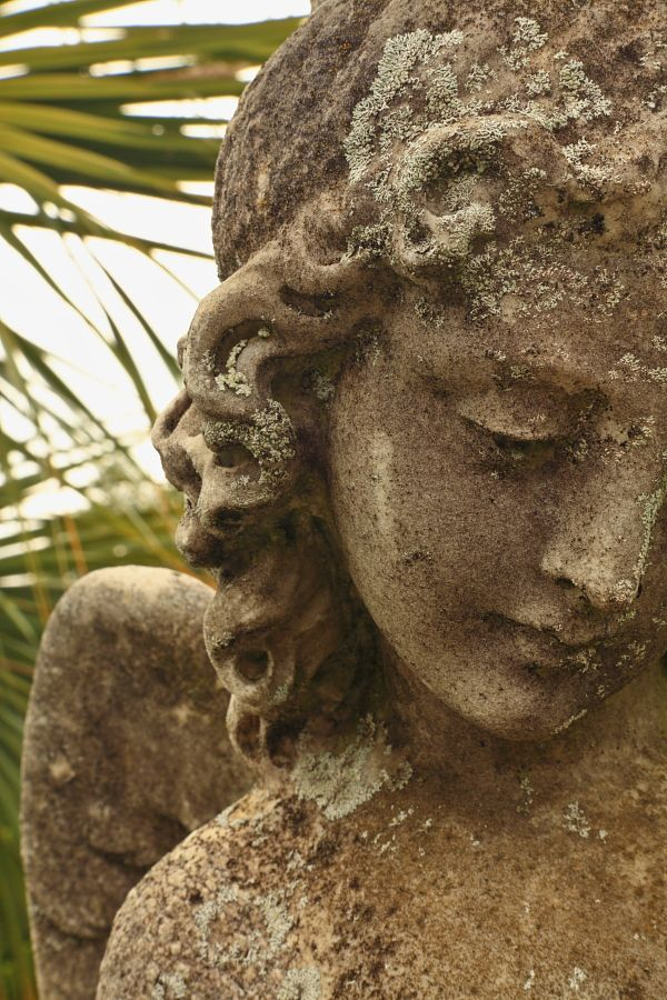 Stone angel, Magnolia Cemetery  Charleston, SC  © Doug Hickok  All Rights Reserved