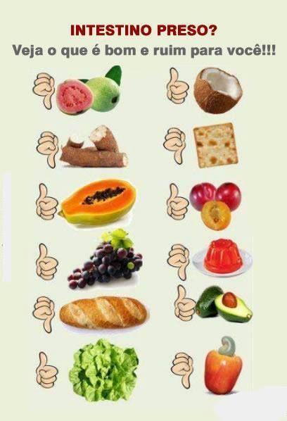 alimentos para o intestino preso  Visite Também: http://planodesaudefacil.com/