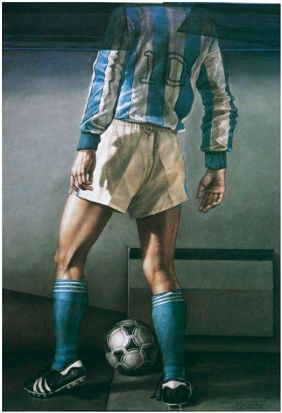 Desde Miró a Andy Warhol y desde botero hasta David Manzur, los artistas han pintado temas de fútbol.