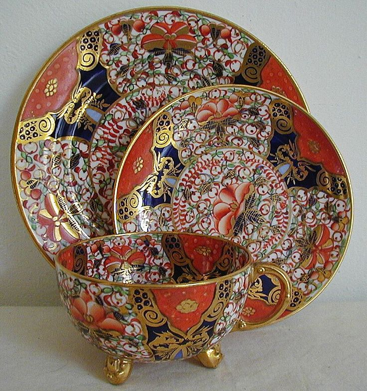 1615 Best Antique English Imari Style Porcelain And Ironstone Images On Pinterest Porcelain