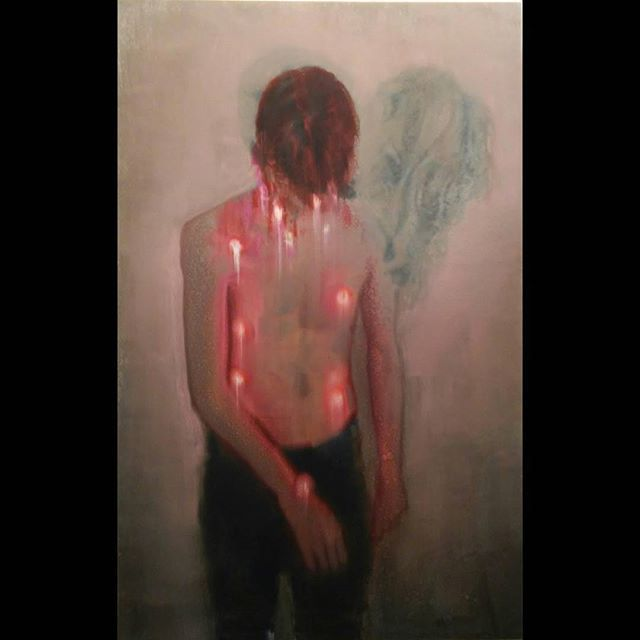 SZŰCS Attila: Luminous boy, 2015 #artmarketbudapest2015  #deakerikagallery  #Budapest #artmarket #fineart #artmarketbudapest #oilpainting #contemporaryart #painting #boy #oiloncanvas #luminous #lights #szucsattila #attilaszucs #newart #deakerikagaleria #artcontemporain #artecontemporanea #modernart #ig_artistry #ig_magyarorszag #ig_budapest #insta_budapest #hungarianartist #hungarianart #artlovers
