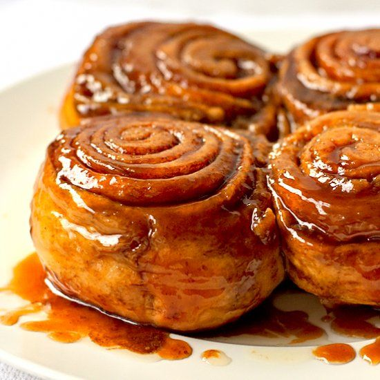 This small-batch of Ultra Gooey Cinnamon Buns are soft and gooey and easy to make - the perfect pairing with a cup of coffee!