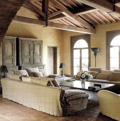 A bit of French and shabby chic! #decor #interior