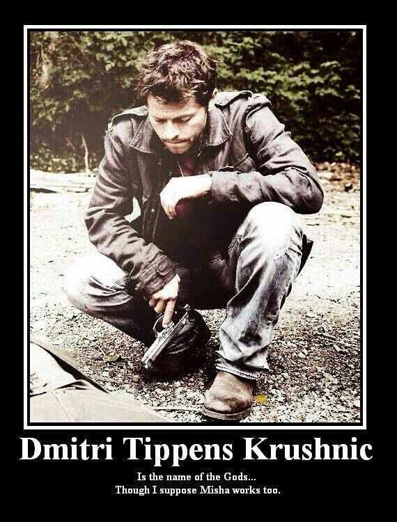Misha CoLLins (: