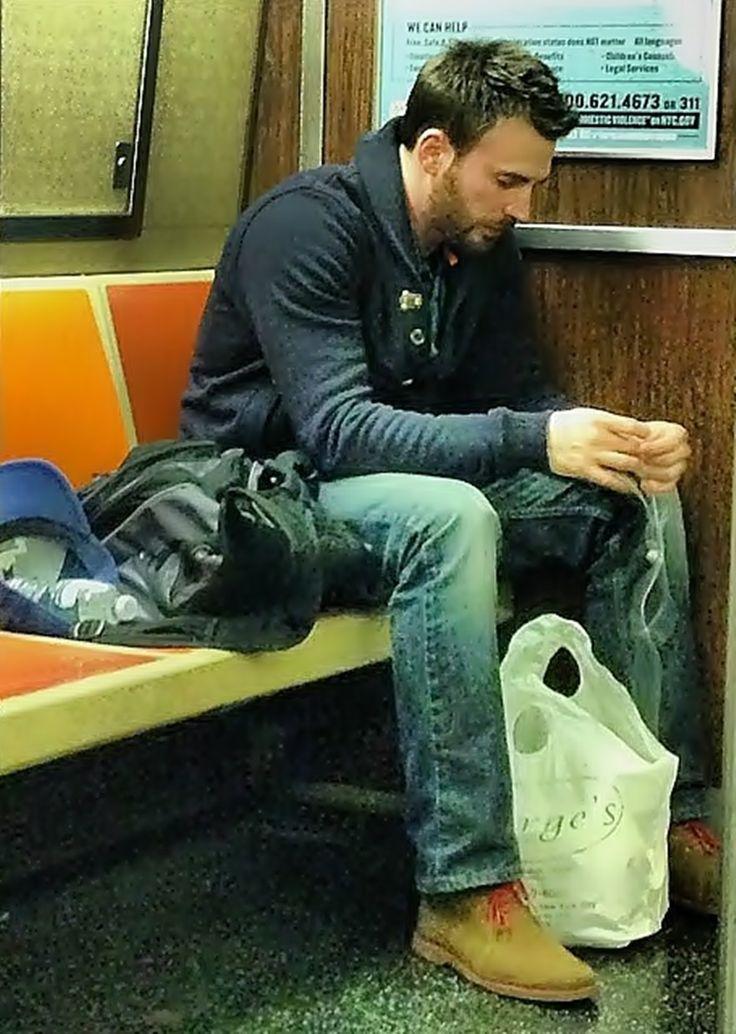Chris Evans' fashion