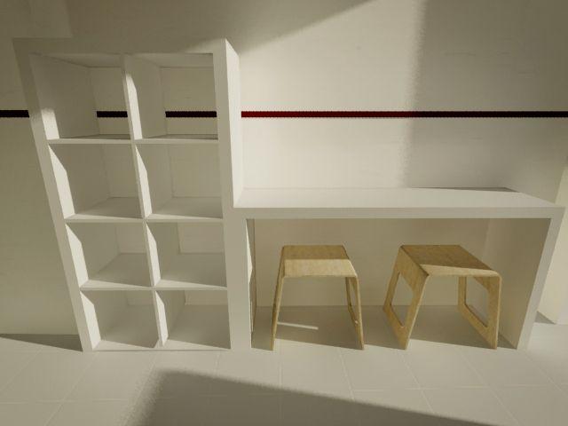 1000 ideas about ikea hack desk on pinterest ikea desk - Mueble expedit ikea ...