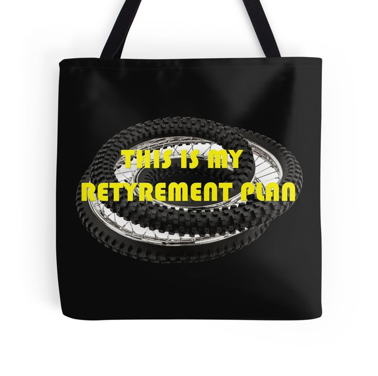 """This is my Retyrement Plan (retirement)"" Tote Bags by beyondartdesign 